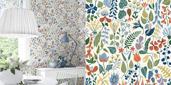Make A Statement With Wallpaper Sinnenrausch Der Kreative Diy