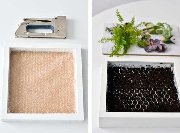 Ikea Hack Bepflanzte Bilderrahmen Selber Machen