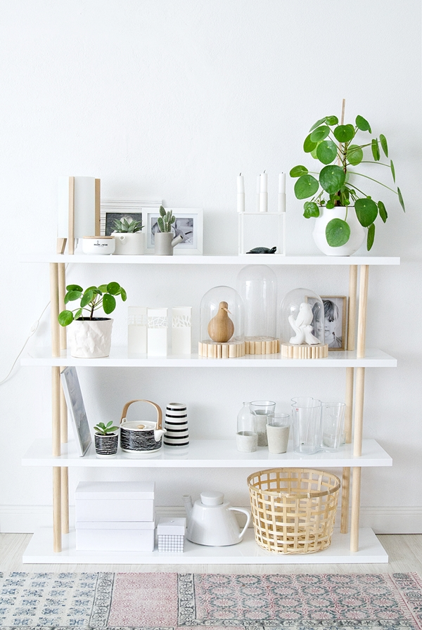 DIY Regal im skandinavischen Design