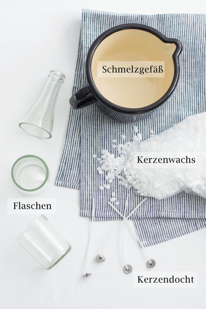 DIY Duftkerzen aus recyelten Flaschen
