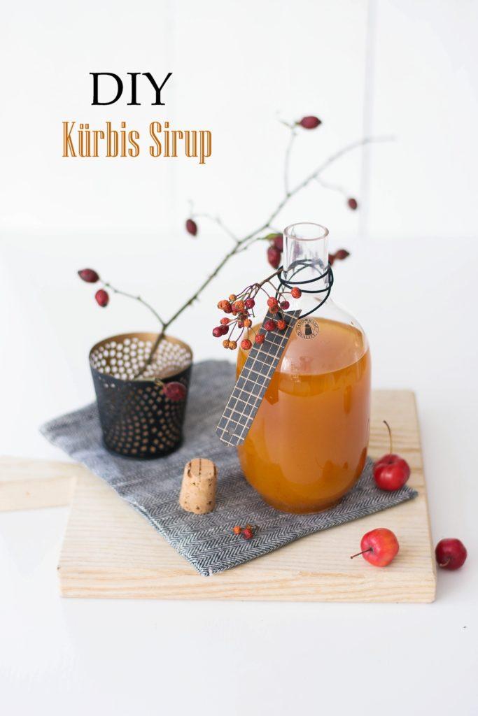 DIY Kürbis Sirup