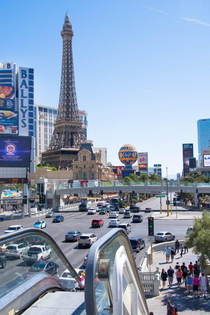 Eiffelturm Nachbau, Las Vegas