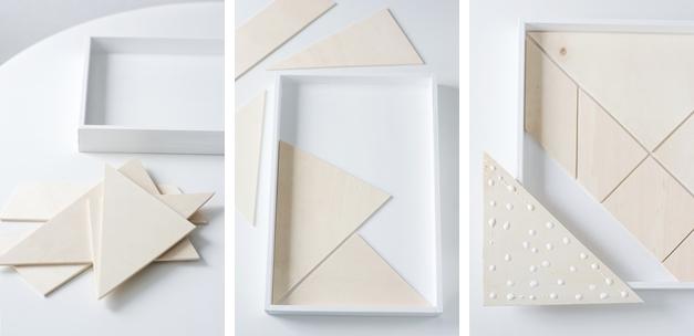 Anleitung Tangram Tablett