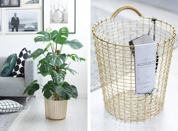 korbo drahtkorb aus schweden wohnzimmer deko