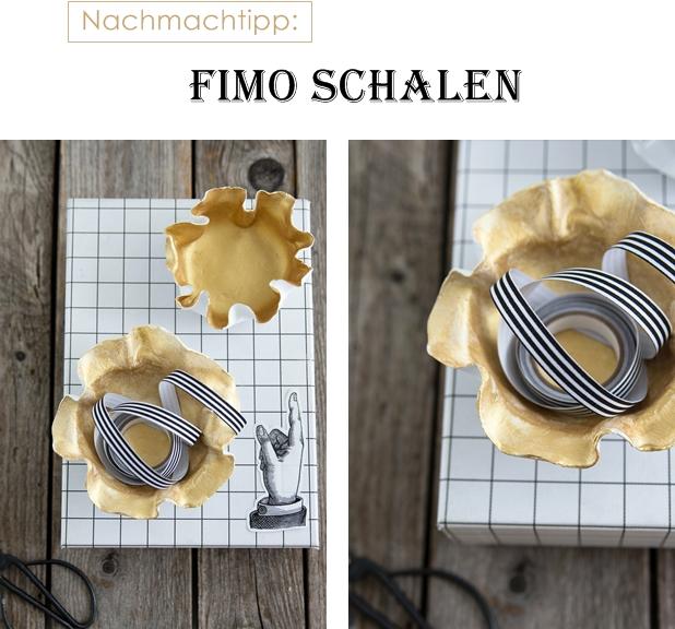 Nachmachtipp Fimo Schalen