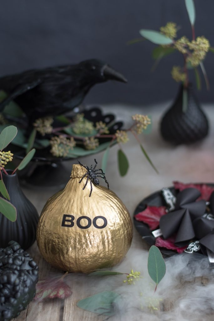Halloween DIY Teil I: Tischlein erschreck dich + Pechkekse!