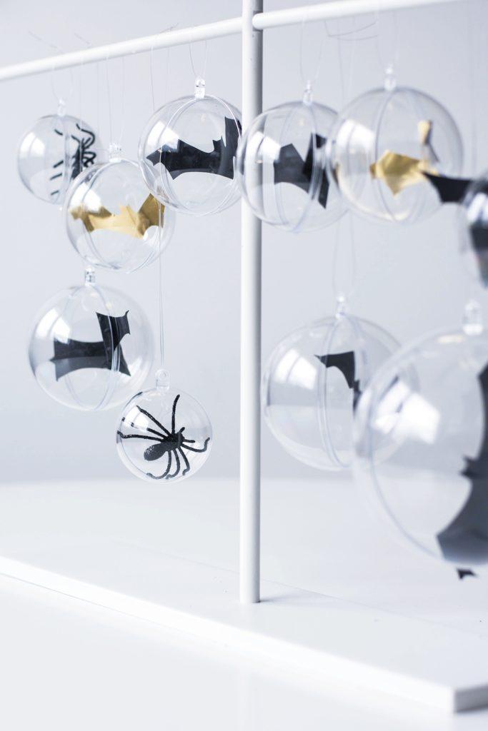 DIY Fledermäuse, Tischdeko