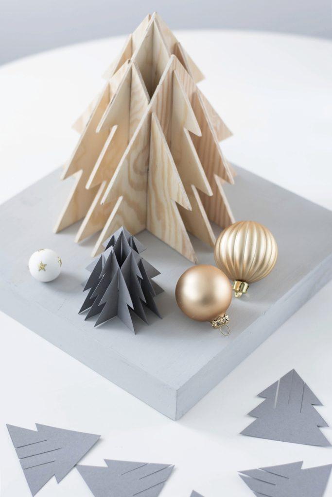 3-D Weihnachtsbäume