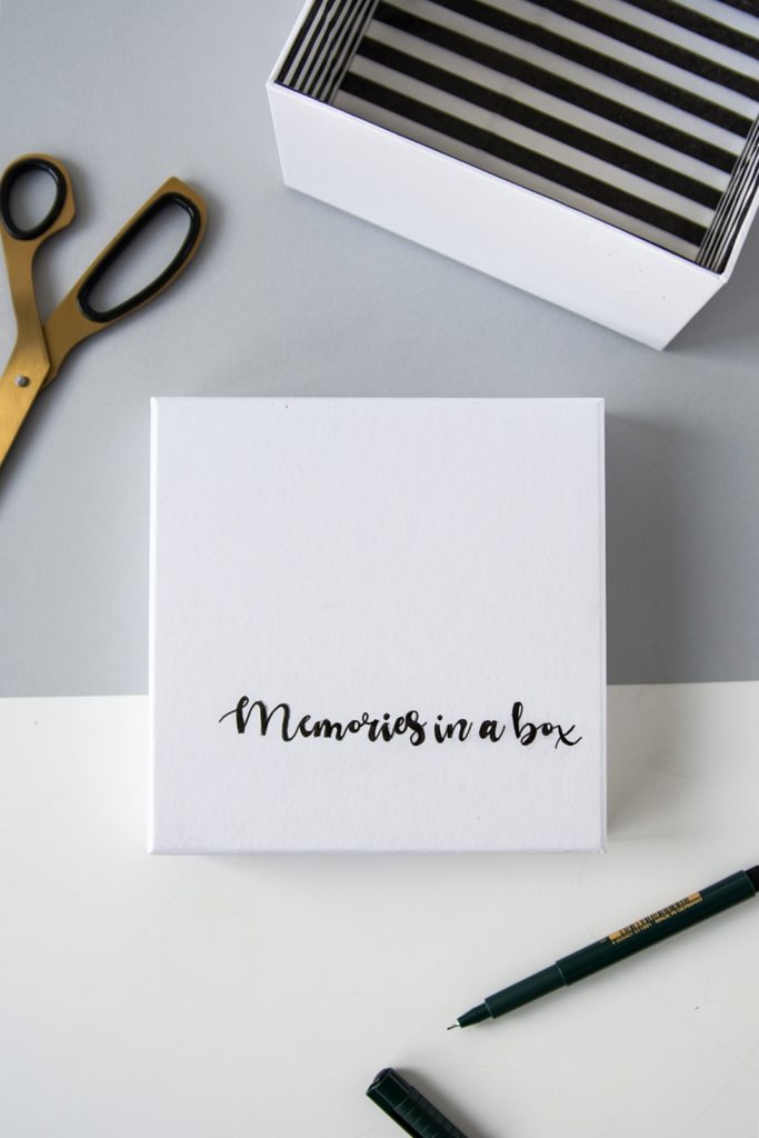 DIY: Memories in a box