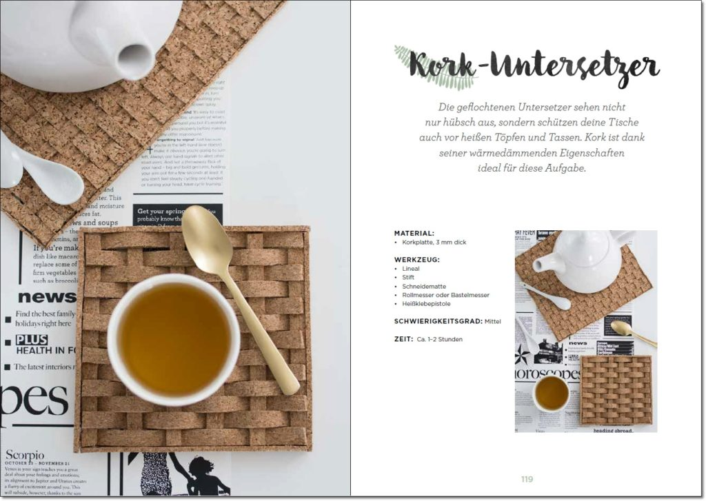 Ein Blick ins Buch Naturliebe von Rebecca Wallenta