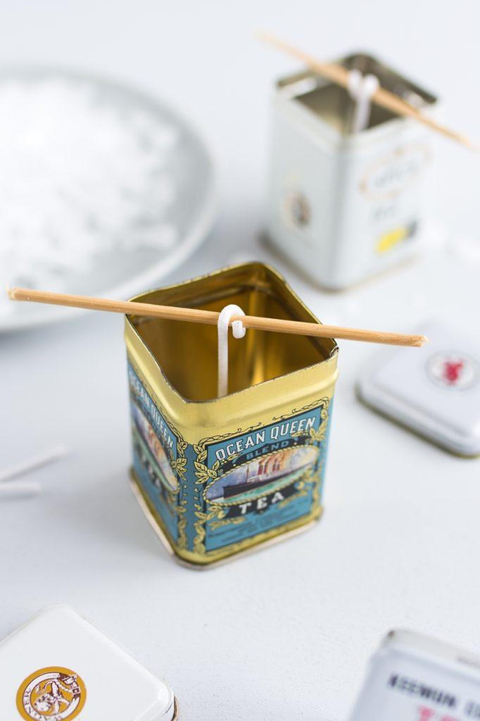 DIY: Citronella Duftkerzen gegen lästige Mücken einfach selber gießen