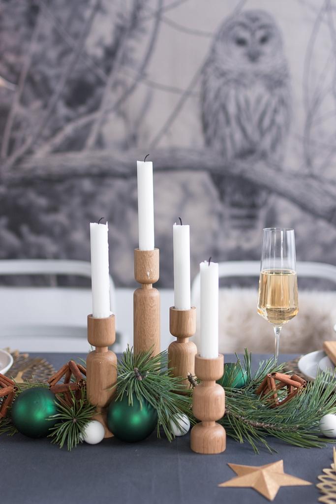 DIY Weihnachts-Tischdeko mit Gewürzen von Kotányi