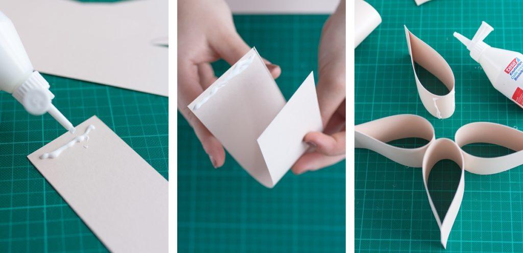 DIY: Einfacher Weihnachtsstern aus Papier