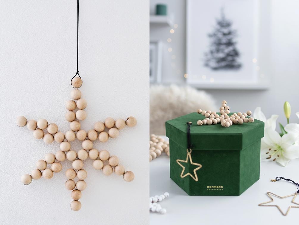 DIY Holzkugel-Sterne ganz einfach selber basteln