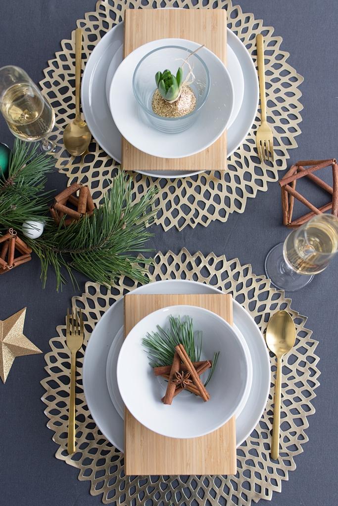 DIY Weihnachts-Sterne mit Zimtstangen von Kotányi