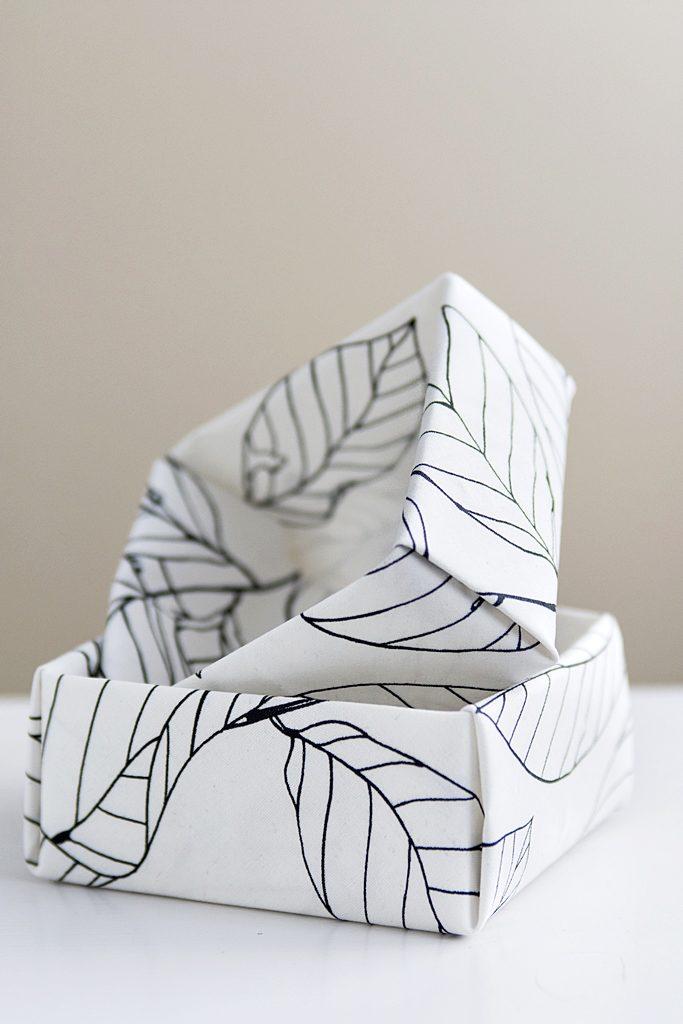 DIY: So einfach stellst du Origami Stoff her! #sinnenrauschDIY