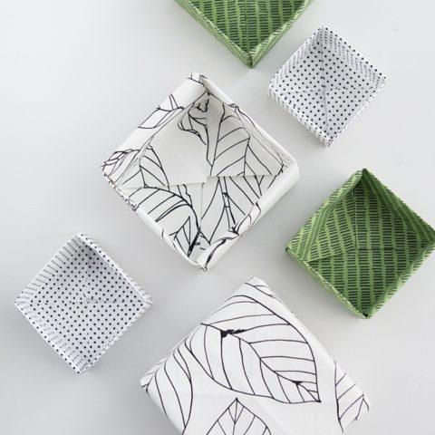 Origami Stoff einfach selber herstellen
