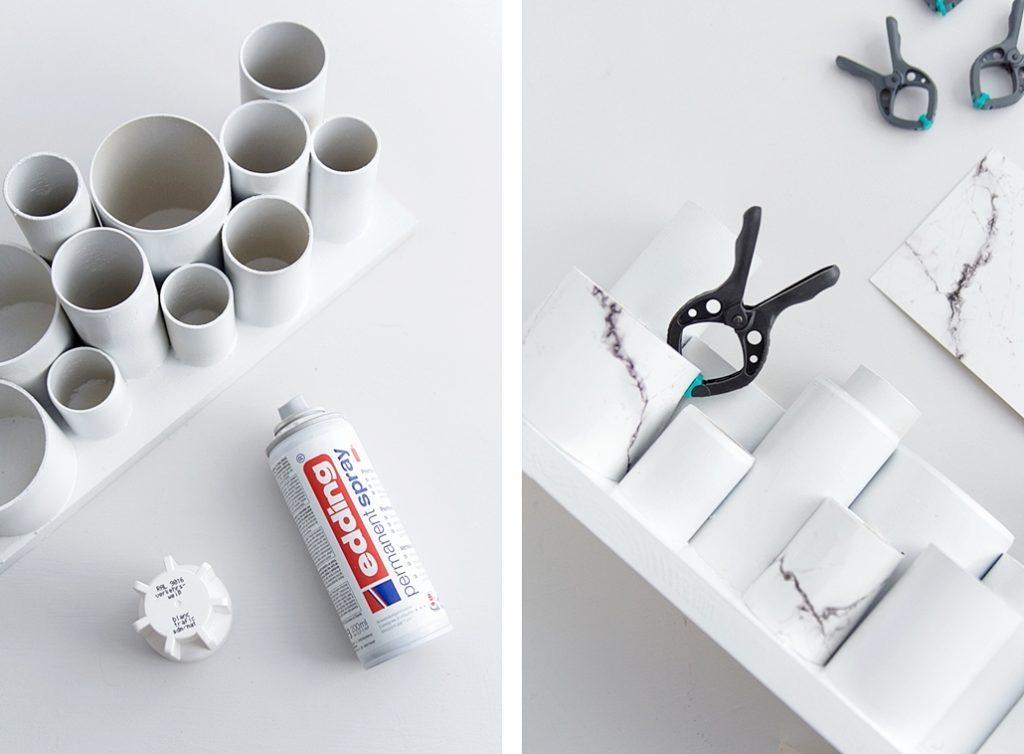 DIY | Praktisches Kreativ-Utensilo für den Schreibtisch #sinnenrauschDIY