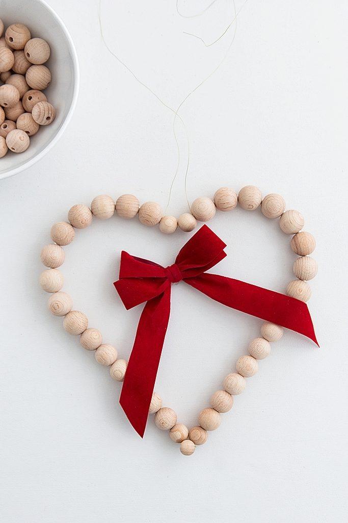 Valentinstags-Geschenk | Ein Herz zum Valentinstag #sinnenrauschDIY