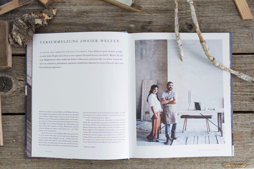 """Mein Lieblingsbuch im Mai: """"Holzarbeiten - Schlichte Wohnobjekte von Hand fertigen"""" von Samina Langholz & Andrea Brugi"""