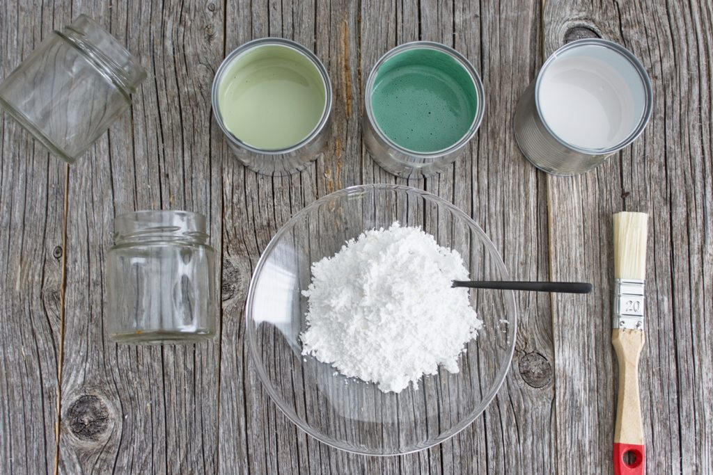 Upcycling Idee: Vom Pesto-Glas zum Blumentopf + DIY Kreidefarbe