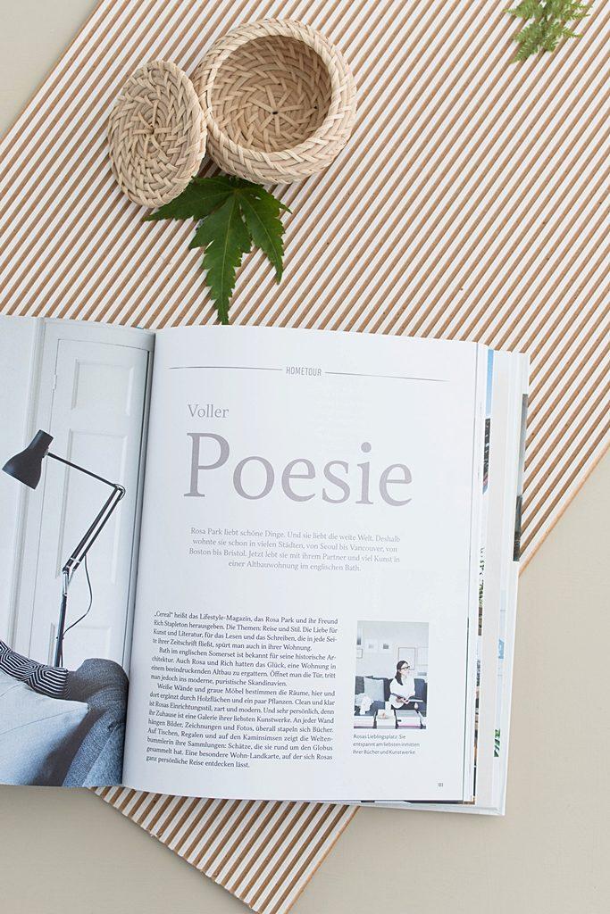 """Mein Lieblingsbuch im Juli: """"pure & simple. Achtsam wohnen - besser leben"""" von Marion Hellweg"""