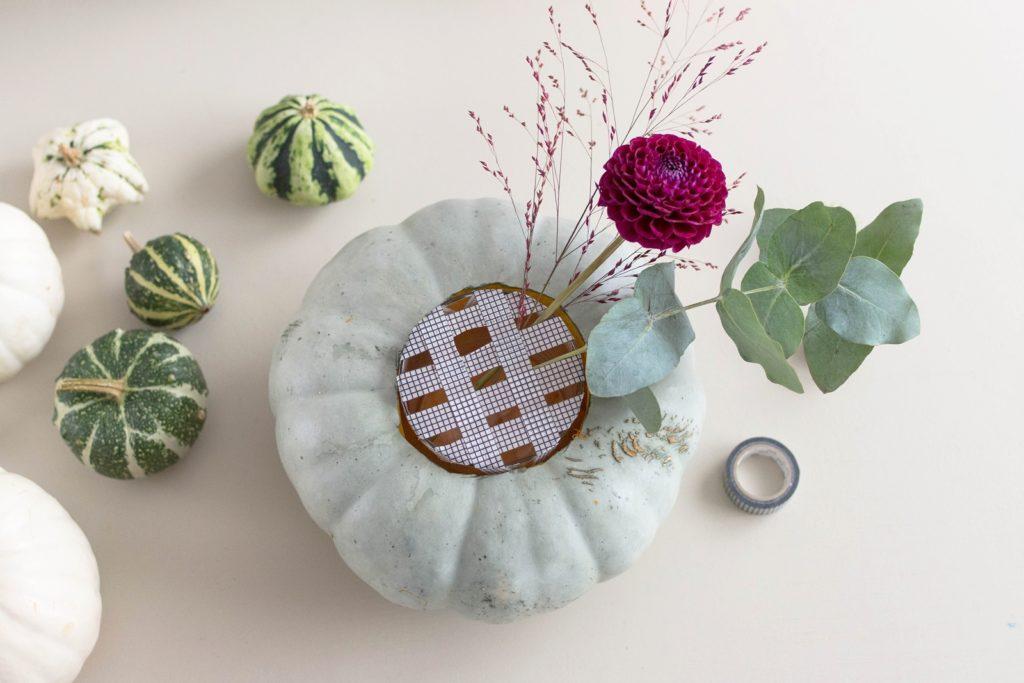 Originelle DIY Kürbis-Vasen für MEIN HOFER
