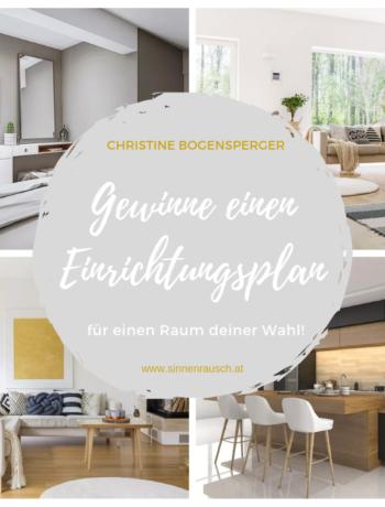 Gewinne einen Einrichtungsplan von Christine Bogensperger