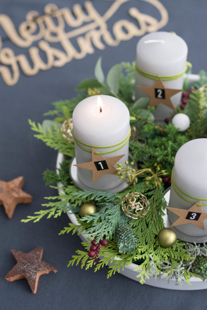 DIY | Naturkranz für den Advent