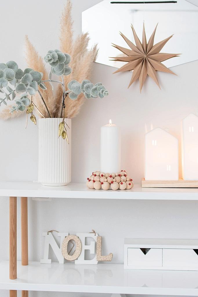 X-Mas DIY: Kerzenhalter aus Holzkugeln basteln
