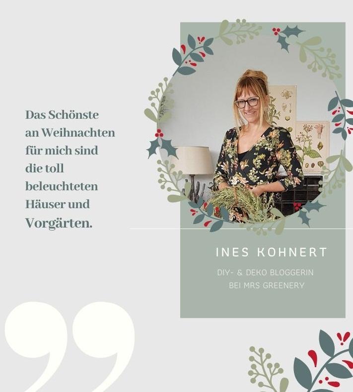 ADVENT-SPECIAL: Weihnachten bei DIY- und Deko-Bloggerin Ines Kohnert von Mrs Greenery