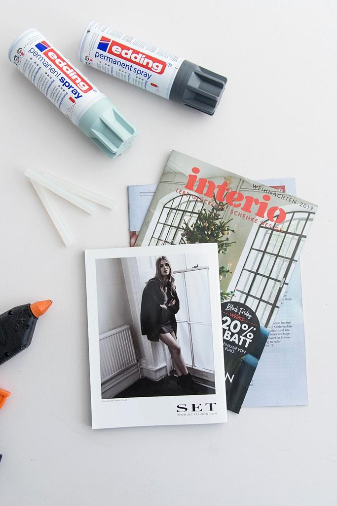 X-mas DIY: Tannenbaum aus Zeitschriften