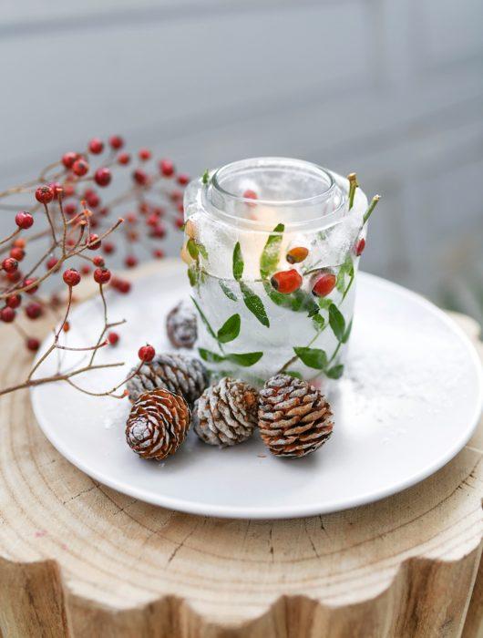 DIY Eislichter MEIN HOFER