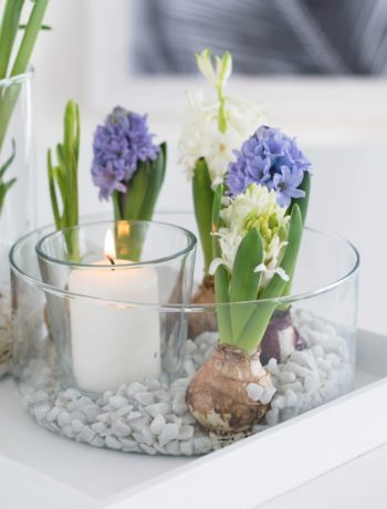 DIY Frühlings Arrangement