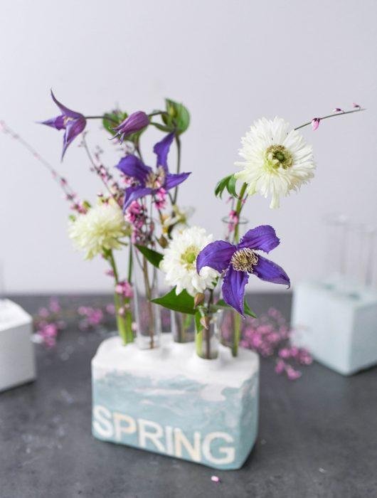 DIY Gips Vasen
