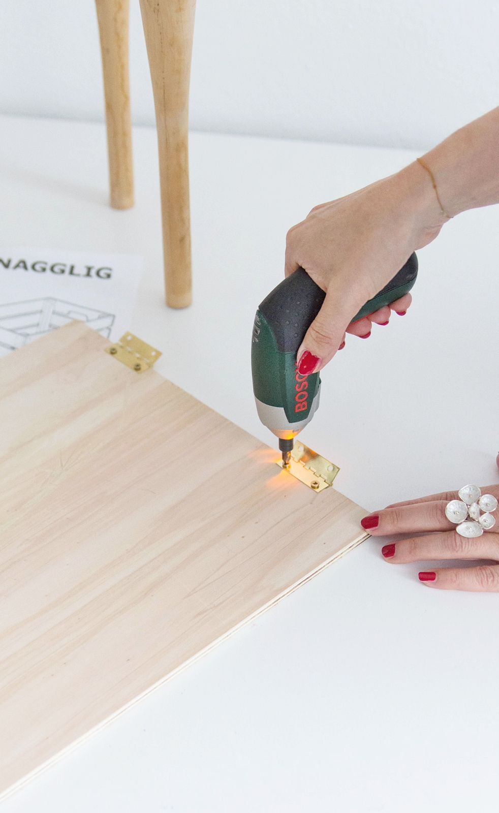 Ikea Hack Knagglig Kommode