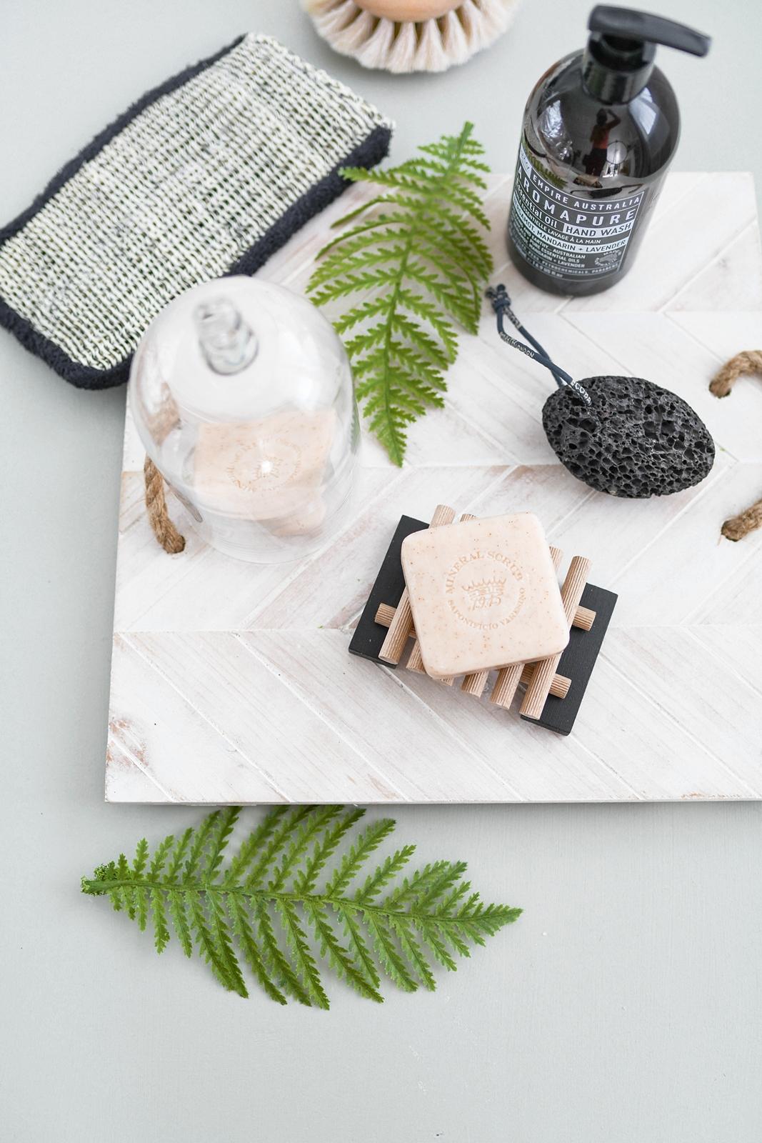 DIY Seifenablage aus Holz