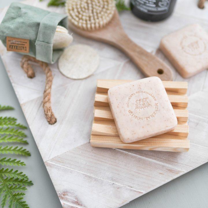 Idee #2: DIY Seifenablage aus Kanthölzern