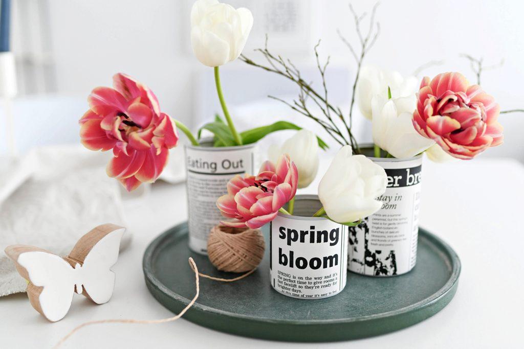 Aus Alt mach Schön: Von der leeren Konservendose zum  stylischen Kräuter- und Blumentopf