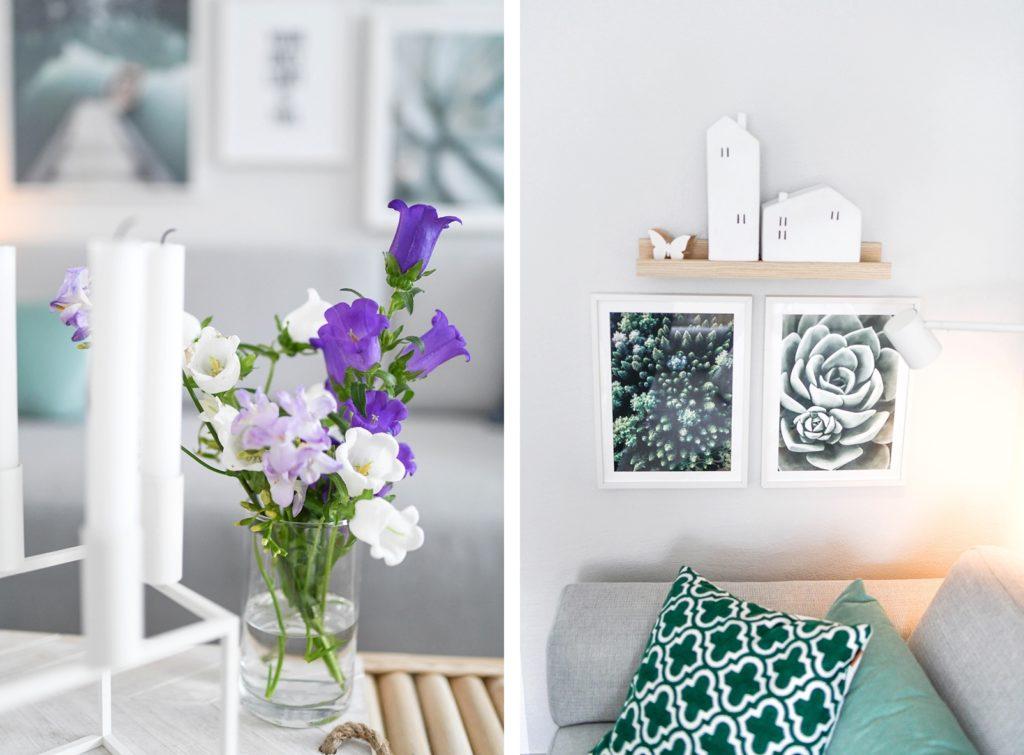 Frühlingsdeko: Bilderwand gestalten mit Posterstore.at