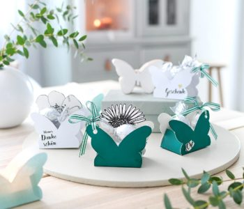 Schmetterlingsschachtel für kleine Geschenke