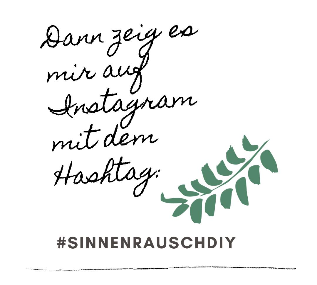 #sinnenrauschDIY