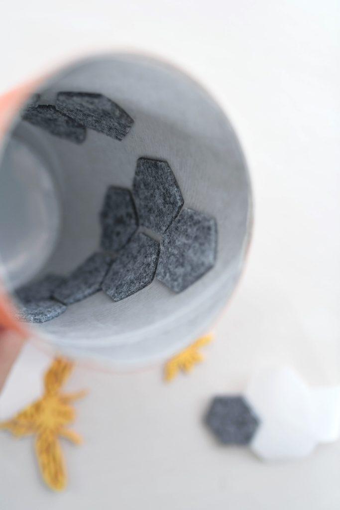 DIY: Honeycomb Vase aus Beton selber gießen