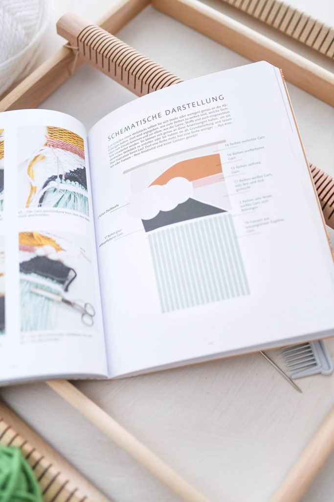 Rezension: Weben – Über 25 trendige Deko-Projekte selbst gestalten von Émilie Guelpa & Julie Robert