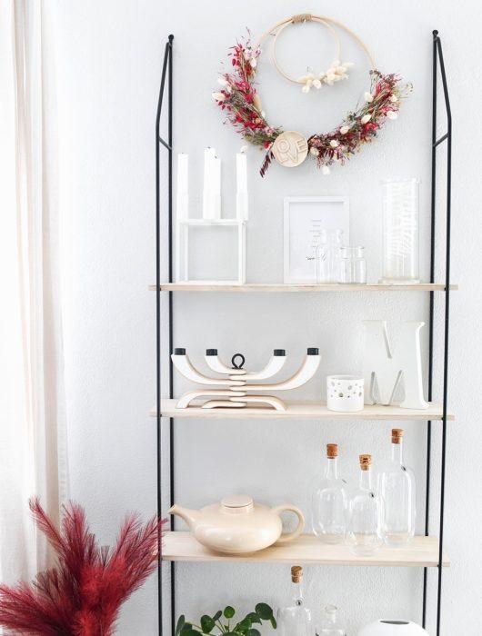 DIY Trockenblumen-Kranz binden