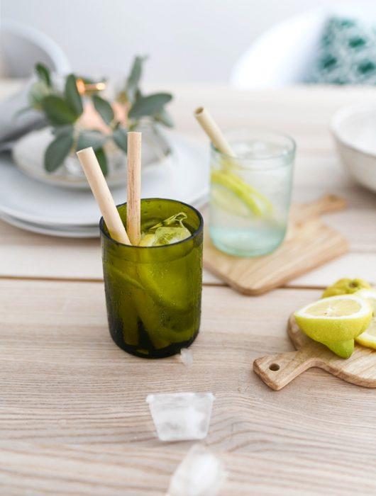 DIY Trinkglas aus Weinflasche