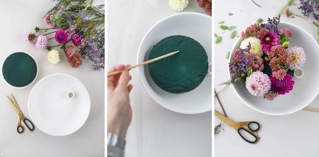Farbenfrohes Herbst-Styling: Schnelle Deko-Ideen mit  blühenden Dahlien