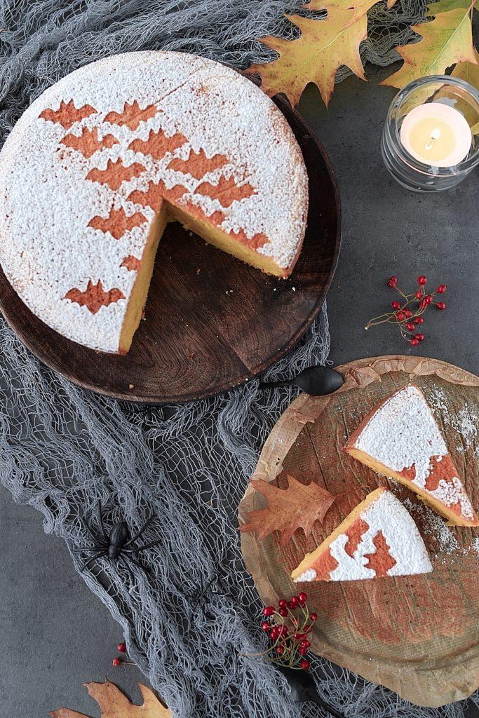 Herbstrezept: Saftiger Kürbiskuchen für die Halloween-Party