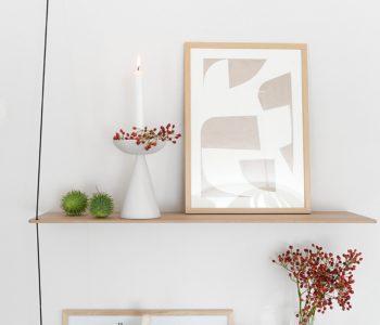 Vorher-Nachher: Neuer Look für alte Ikea Vintage Kerzenständer mit Kreidefarbe