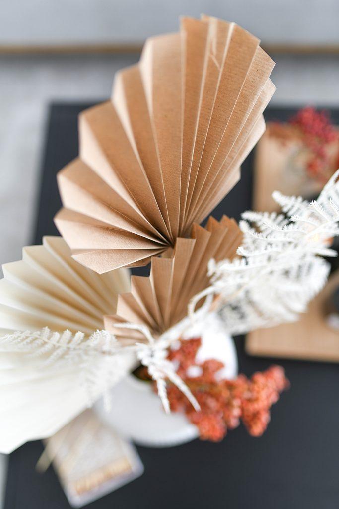 DIY: Falten Sie Palmblätter selbst aus Papier, einschließlich einer Vorlage